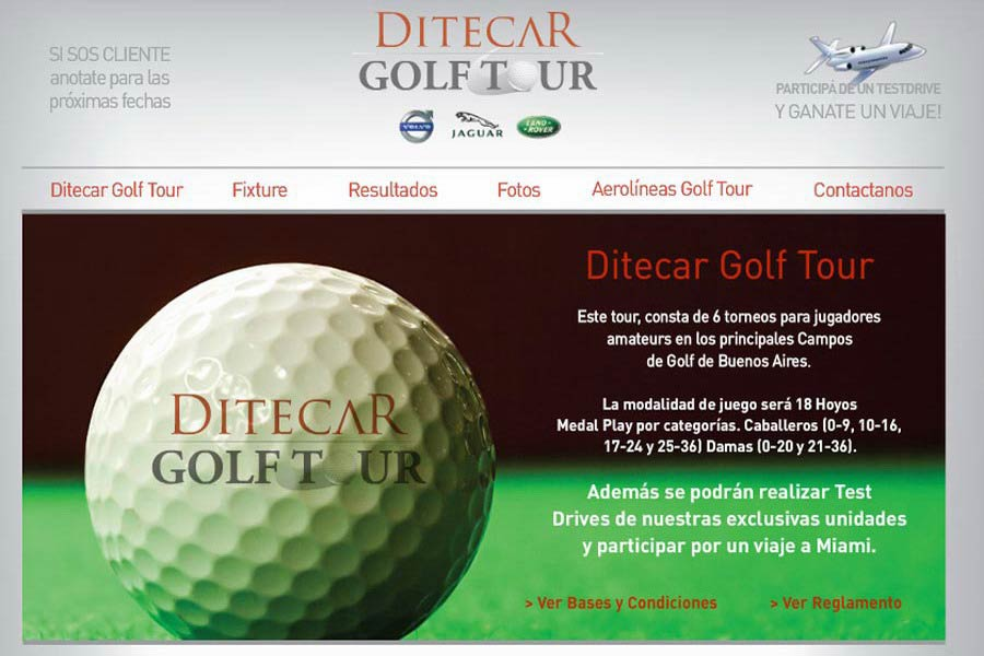 ditecar-golf-tour