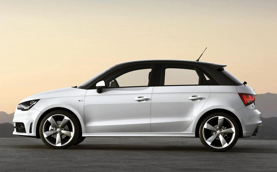 audi a1 sportback la versi n de 5 puertas. Black Bedroom Furniture Sets. Home Design Ideas