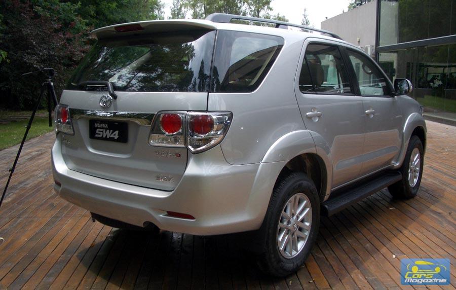 Nueva Toyota Sw4 2012 Precios Y Versiones En Argentina