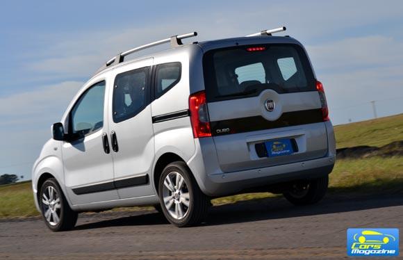 Fiat Qubo Prueba