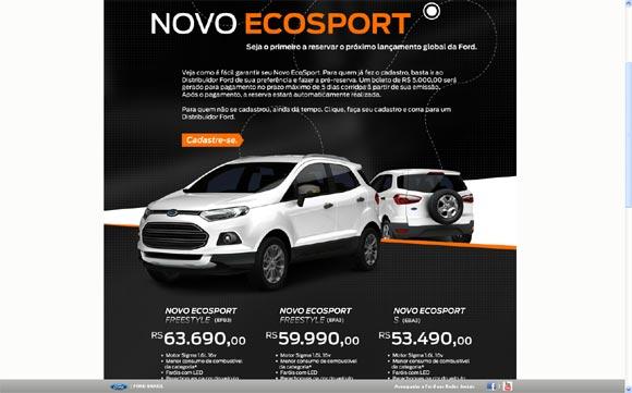 Preventa Nueva Ecosport