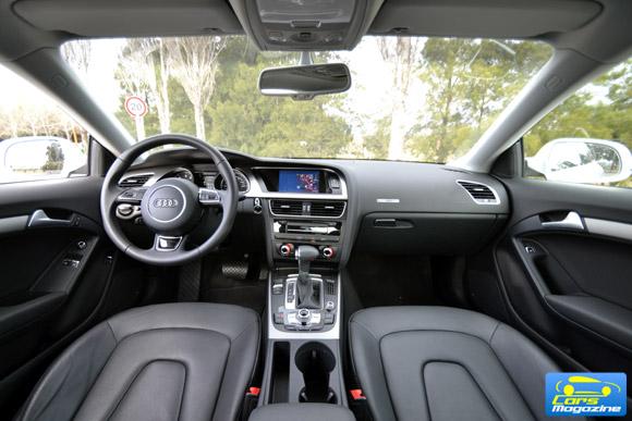 Prueba Audi A5 Coupe