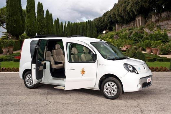 Renault Kangoo ZE Vaticano