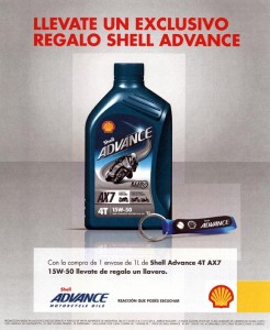 Promo Shell Advance