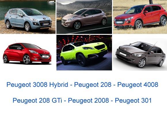 Lanzamientos Peugeot Argentina 2013