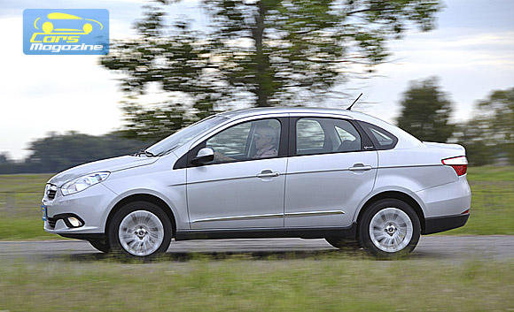 Fiat Grand Siena Prueba