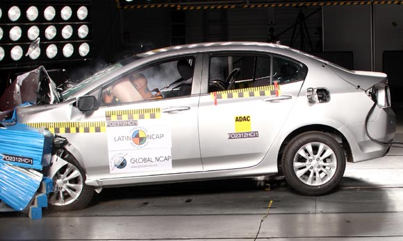 Honda City Latin NCAP
