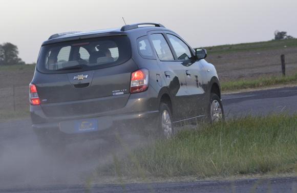 Prueba Chevrolet Spin 7 Asientos Ltz At