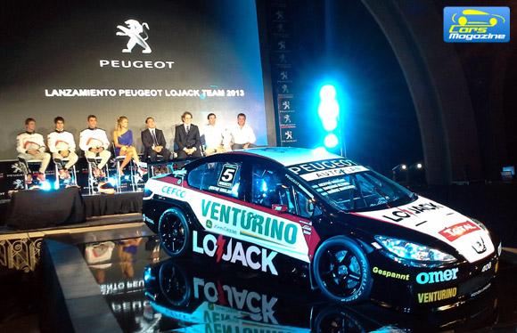 Peugeot LoJack Team 2013