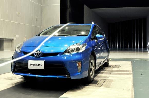 Toyota Aerodinámica
