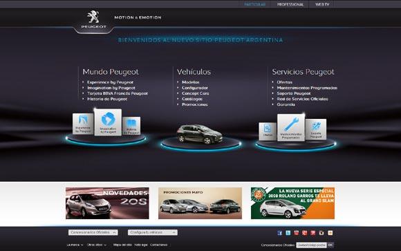 Peugeot Argentina Nueva Web