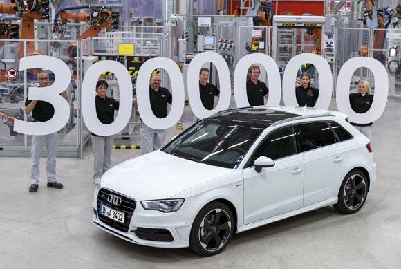 Audi A3 3 millones