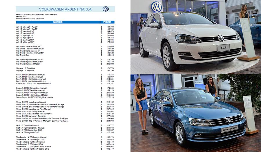 Precios Vento 2015 | Autos Post