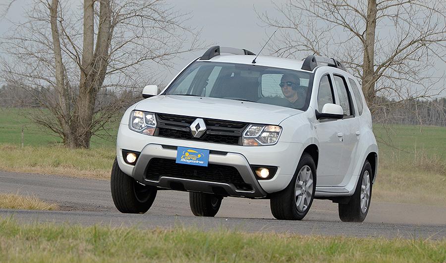 Prueba de la Nueva Renault Duster Fase 2 en Argentina 3301196ab87