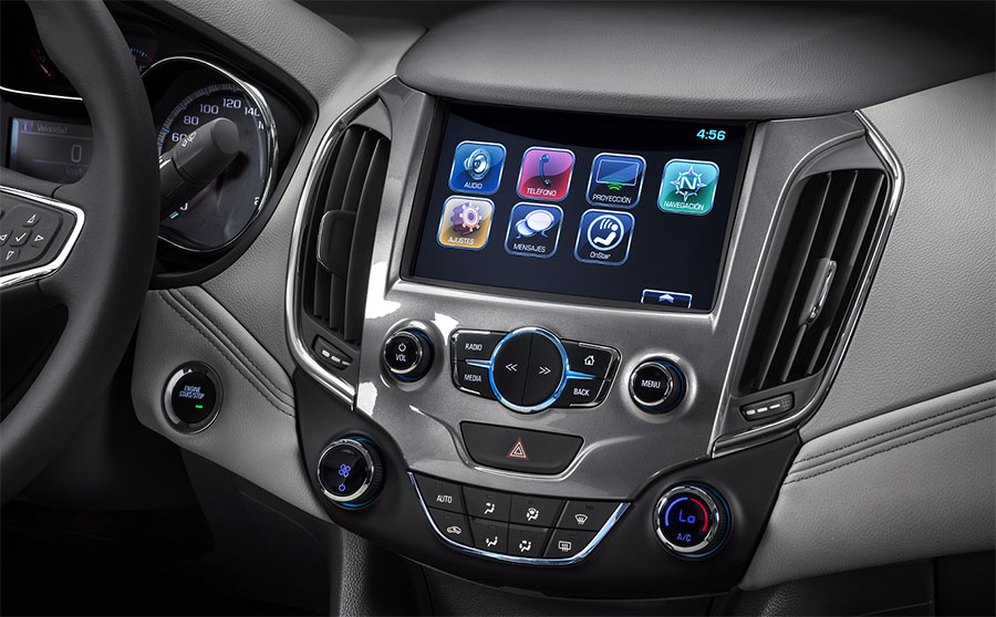 Chevrolet-Cruze-MyLink
