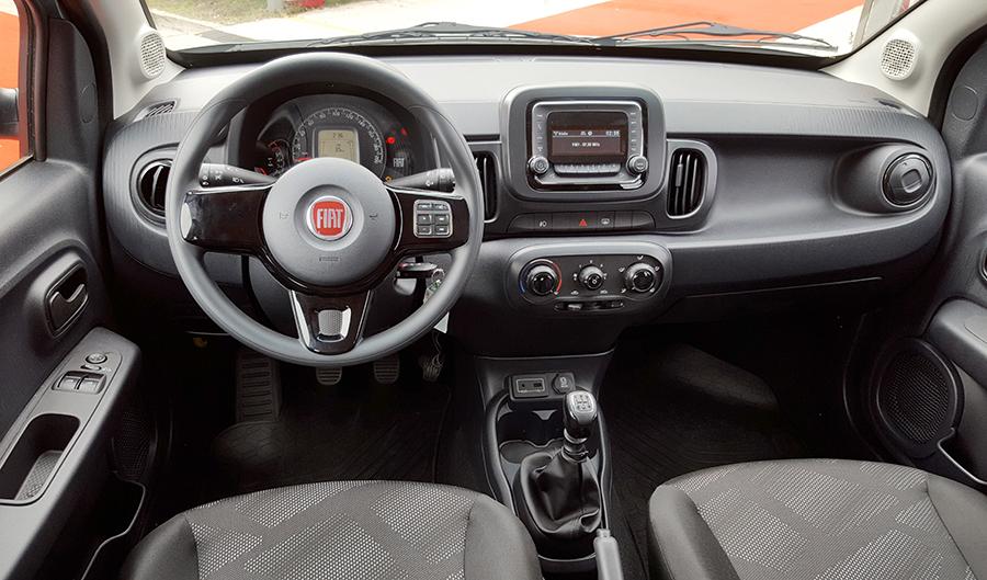 Fiat mobi way interior