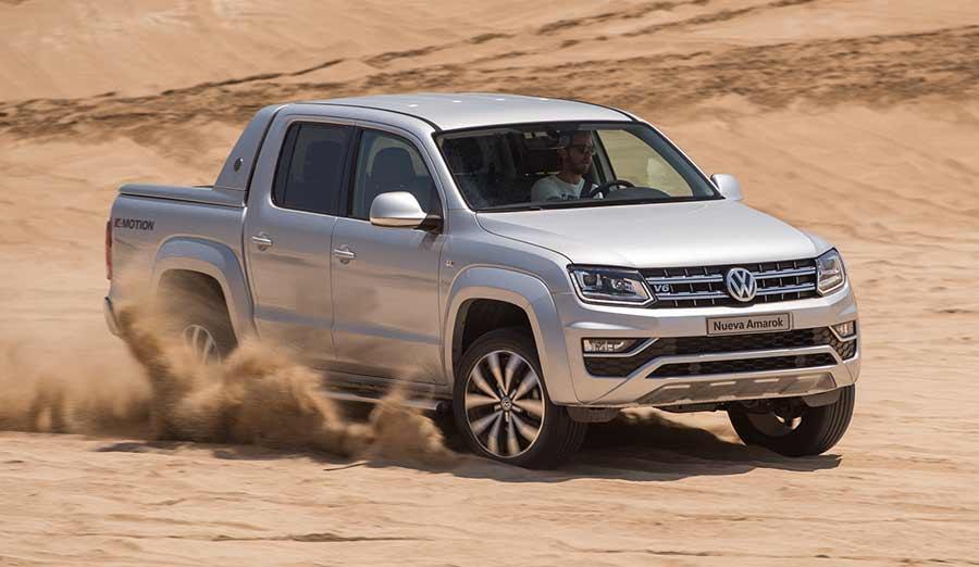 Lanzamiento: Volkswagen Amarok V6 en Argentina
