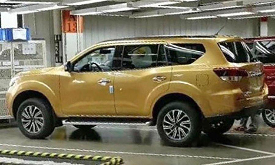Nissan producirá la versión SUV de la NP300 Frontier