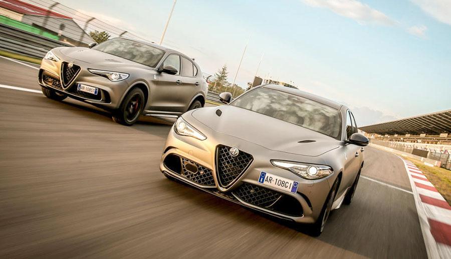 Son El Nuevo Sedan Y El Nuevo Suv De La Marca Italiana Que Comparten Plataforma Y Mecanica Precios Desde 48 210 Euros Giulia Y 54 506 Euros Stelvio